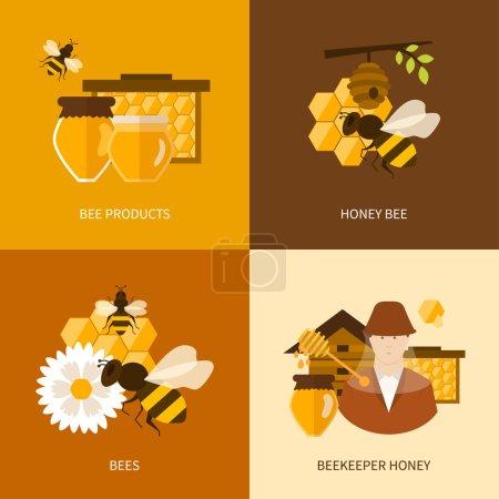 Organic natural honey