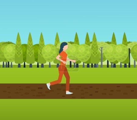 Sport woman run fitness jogging