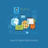 engine optimization and web analytics