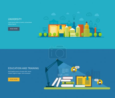icons set of distance education,