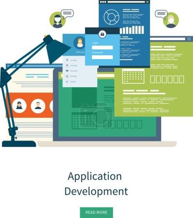 Concept for e-business, web sites