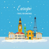 Travel to Europe for Christmas