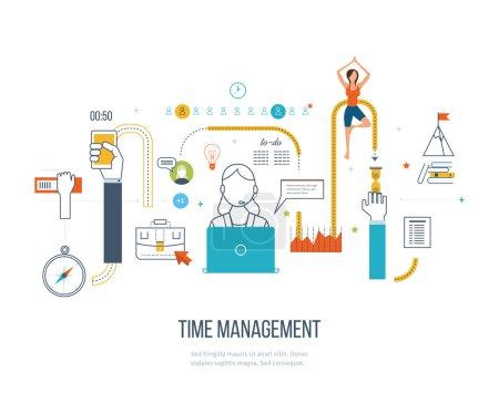 Time management concept planning