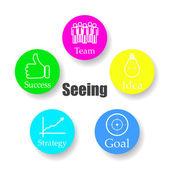Diagram schema Buchan team idea purpose strategy success