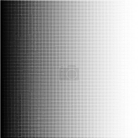 Illustration for Halftone dots gradient in format vector - Royalty Free Image