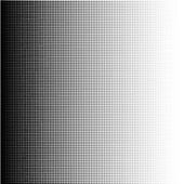 Halftone dots gradient in format vector