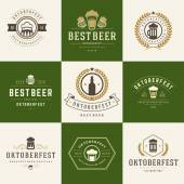 Retro style labels badges and logos set