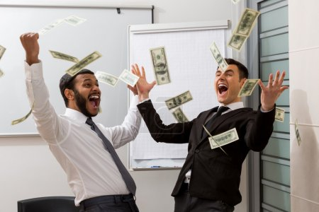 Successful managers scatter dollars.
