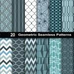 Geometric Seamless Patterns., pattern swatches inc...