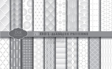 dot seamless patterns