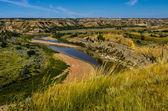 The Little Missouri River Valley