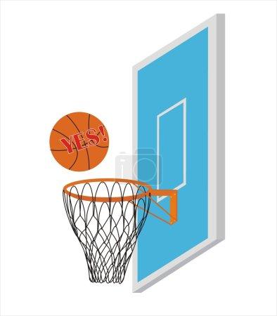 Vector Basketball Scoring Points