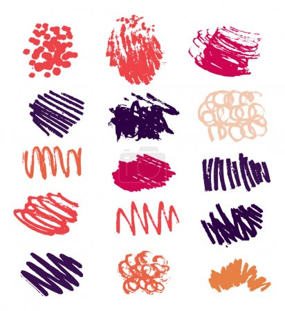 Bright scribble collection