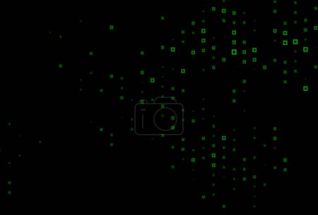 Abstract background with dots and lines...