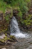 Vodopád - voda - řeka - clona