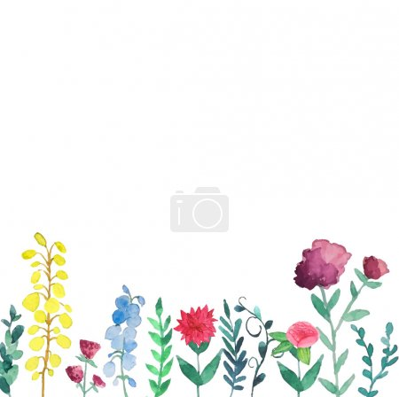 Illustration for Vintage hand drawn vector background. - Royalty Free Image