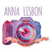 Watercolor photo camera