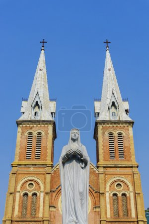 Church and virgin Mary mother