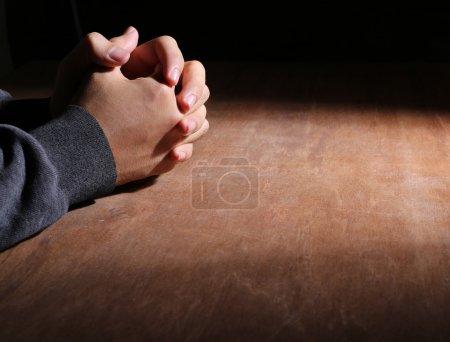 Mains de la prière