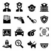 Policie  hlídač ikona
