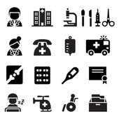 Medical icon set vector illustration  symbol