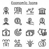 Economic  Business & Investment icons set