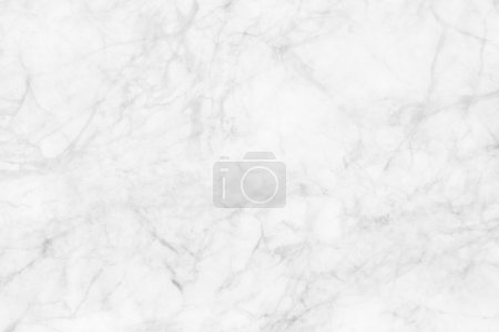 Photo for White (gray) marble texture, detailed structure of marble (high resolution), abstract  texture background of marble in natural patterned for design. - Royalty Free Image