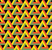 Vector seamless triangle pattern