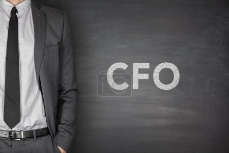 CFO on blackboard