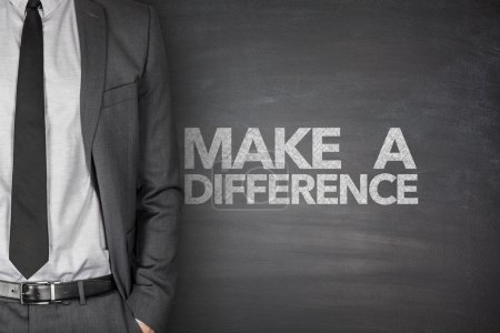 Make a difference on blackboard