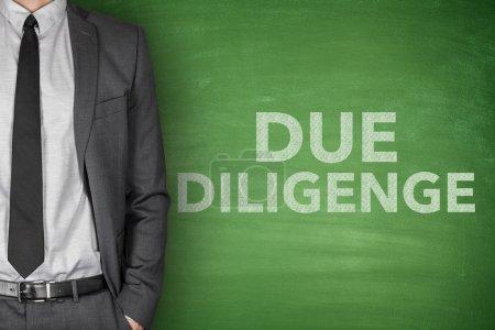 Due diligence on blackboard