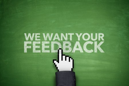We want your feedback on blackboard
