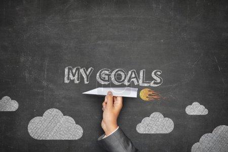 My goals concept