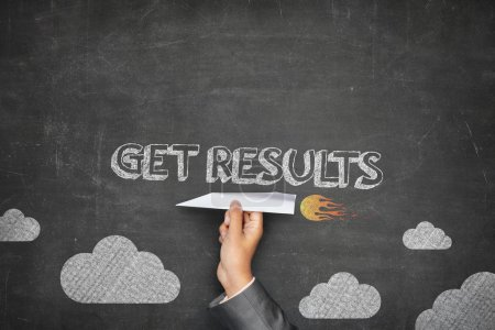 Get results concept on blackboard