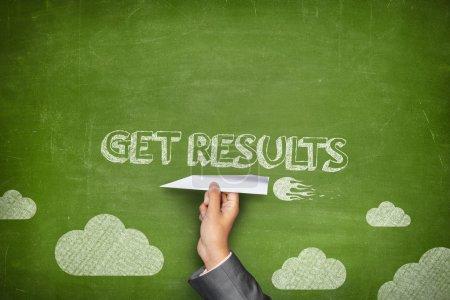 Get results concept on blackboard