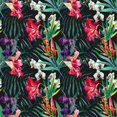 """Постер, картина, фотообои """"тропический образец"""""""