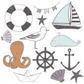 Baby set of marine elements