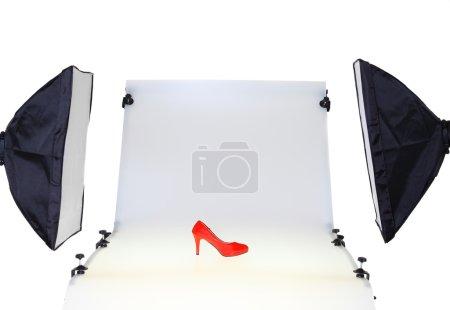 Photo Desk in the photo studio