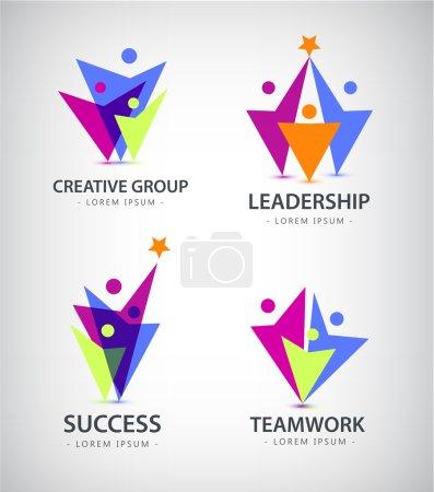 Team, people logos