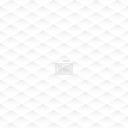 Rhombus seamless white texture