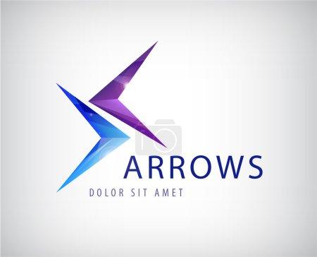 Arrows logo design
