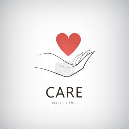 charity, medical, care, help logo