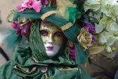 Benátky. Karneval. Masky. Kostýmy