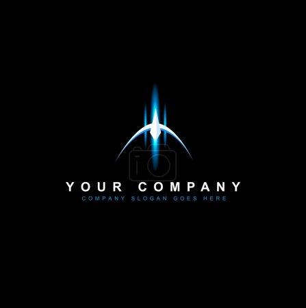 Sci Fi Logo Vector