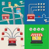 Set of Sale concepts