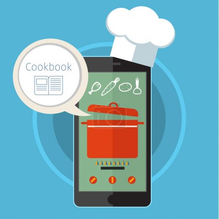 Concept for cooking at home