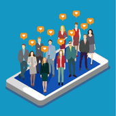 Concept of business social networking