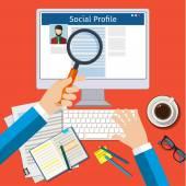 Hledat sociální profil