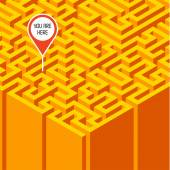 Point in the maze, concept of success