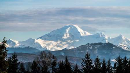 View of Mount Baker in Washington state